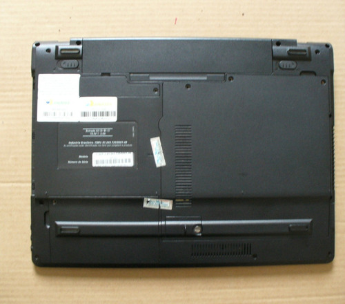 carcaça base inferior notebook sim + 1025