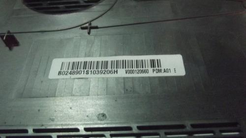 carcaça base inferior notebook toshiba satellite a300