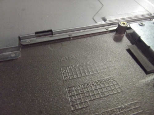 carcaça base superior e touchpad notebook gateway 3560