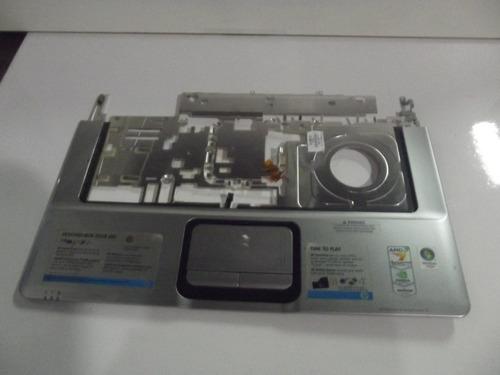 carcaça base superior e touchpad notebook hp pavilion dv6000