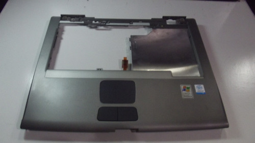 carcaça base superior notebook dell latitude d505 cinza