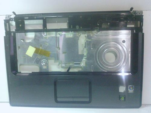 carcaça base superior notebook hp compaq presario v6000