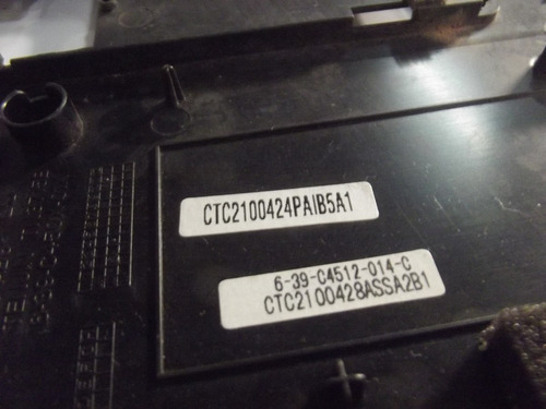 carcaça base superior notebook intelbras i300