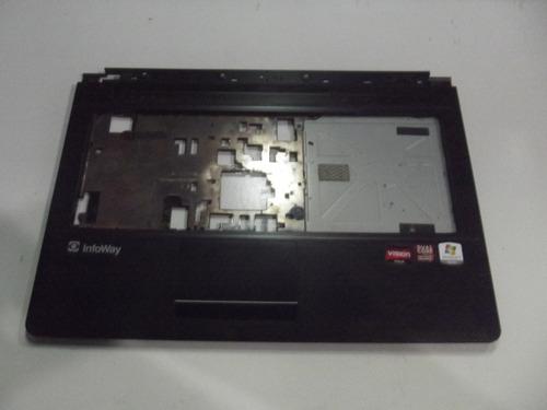 carcaça base superior notebook itautec infoway a7420