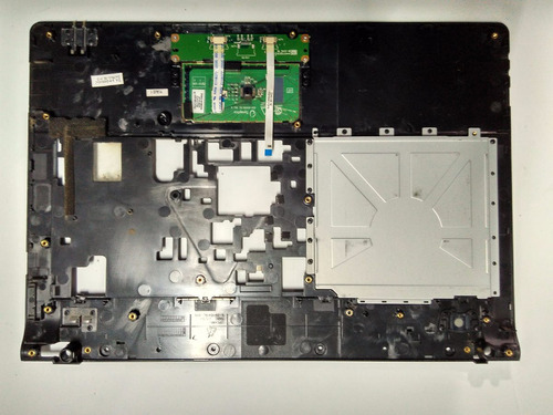 carcaça base superior notebook megaware meganote kripton k