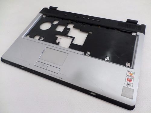 carcaça base superior notebook toshiba l355d-s7809