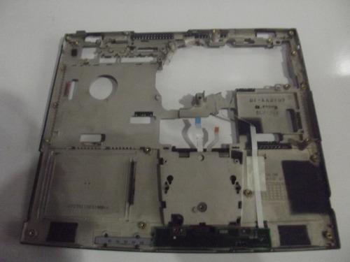 carcaça base superior notebook toshiba satellite 1805 s207