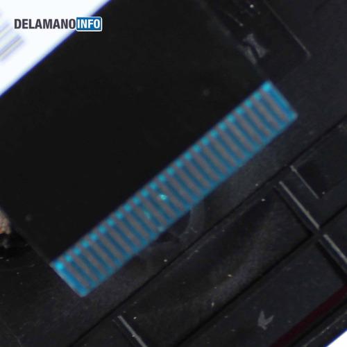 carcaça base teclado notebook asus x451c cinza usada (10933)