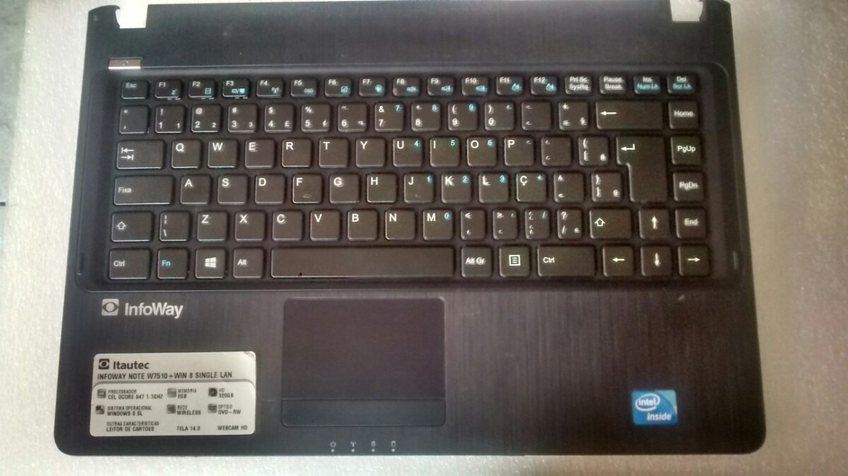 NOTEBOOK ITAUTEC W7510 DRIVER FOR WINDOWS