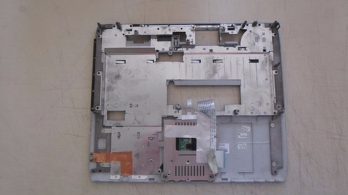 carcaça base + touchpad notebook hp nx9005 conservada