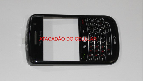 carcaça blackberry 9650 preta a pronta entrega