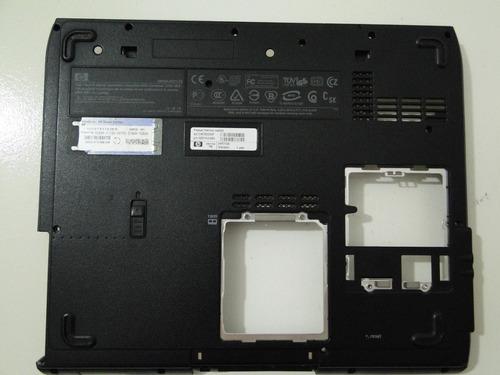 carcaça caixa base original hp pavilion ze4200 - 317433-001