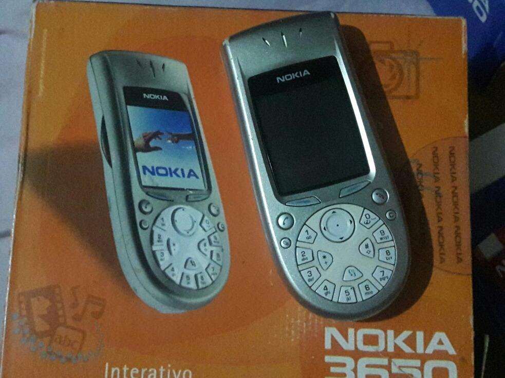 carca a caixa e manual nokia 3650 n o liga r 150 00 em mercado rh produto mercadolivre com br Nokia 3850 Nokia 6600