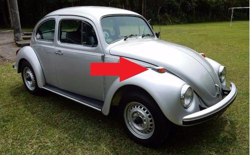 carcaça capa pisca dianteiro fusca 1970 à 1996 em metal