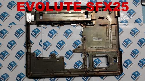carcaça chassi inferior evolute sfx 25 sfx25 sfx-25