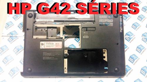 carcaça chassi inferior hp g42 séries