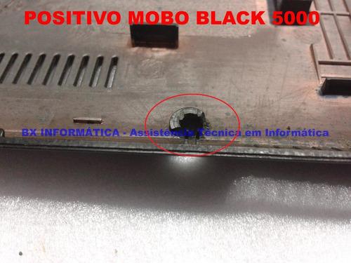 carcaça chassi inferior positivo mobo black 5000