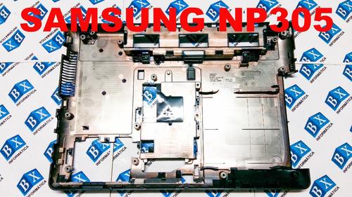carcaça chassi inferior samsung np305 np305e4a séries