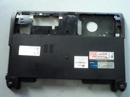 carcaça chassis inferior notebook  asus x44c