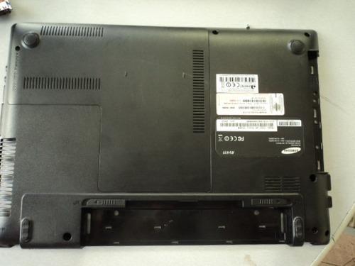 carcaça chassis notebook samsung rv411
