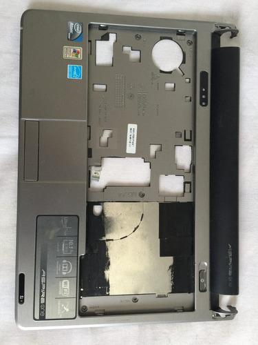 carcaça com touchpad acer aspire one d250 kav60