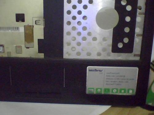 carcaça completa com touchpad do note intelbras i532