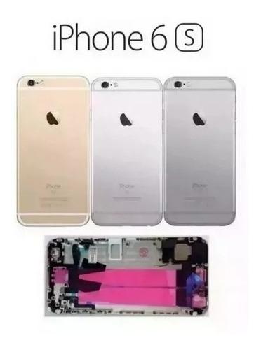 carcaça completa iphone 6s a1633 a1688 a1700 com flex