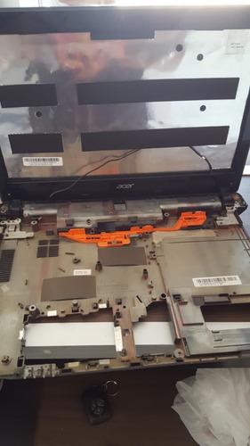 carcaça completa notebook acer e1-421