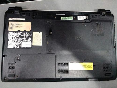 carcaça completa notebook avell lbp21 com placa mae pifada