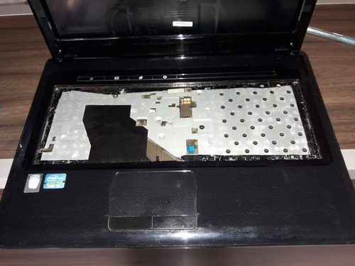 carcaça completa notebook positivo sim série 7400