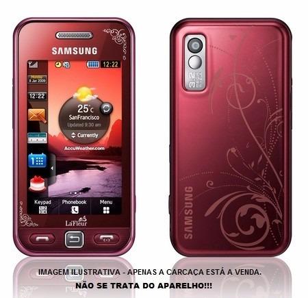 carcaça completa samsung star s5230 + touch screen promoção