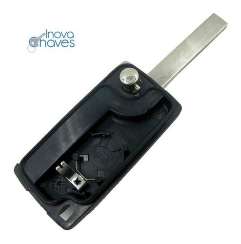 carcaça da chave citroen c3 picasso aircross