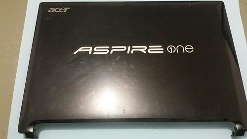 carcaça da tampa do netbook acer aspire one d255 c/webcam *