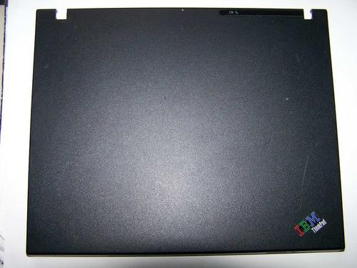 carcaça da tampa lcd notebook ibm r51 13r2665