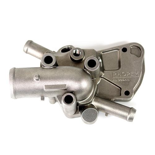 carcaça da válvula termostática palio 1.0 1.5 96 a 00 com ar