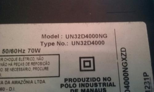 carcaça display defeito ltj320ap01 s/placa/base un32d4000ng