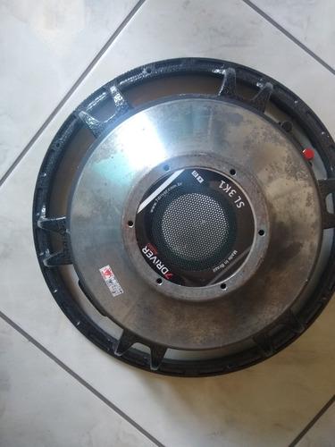 carcaça do alto falante 15 1400 rms 7 driver 3sl rms usado