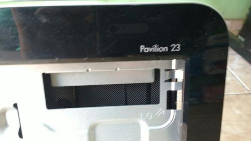 carcaça do pc hp pavilion23aio pc br modelo23-b210br