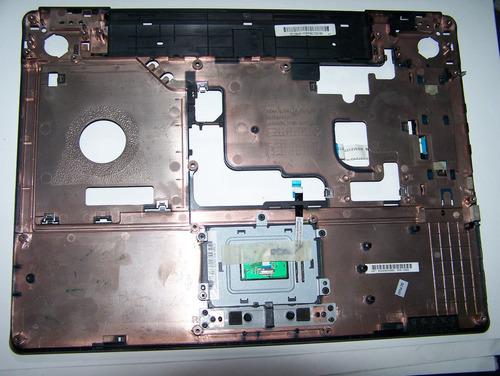 carcaça do teclado mouse notebook toshiba a135 fa015000sxx