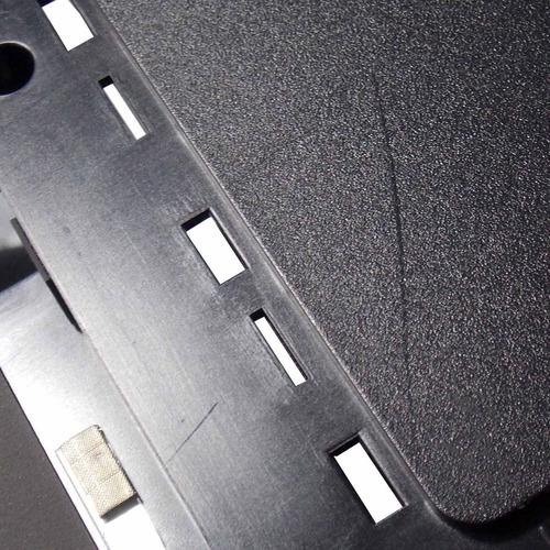 carcaça face d samsung rv411 rv415 usada sem tampa (6658)