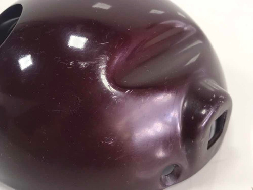 carcaça farol rx 180 ferro nova cor vermelha cod: 2349
