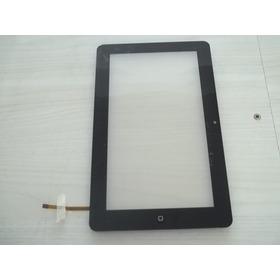 Carcaça Frontal Com O Touch Para Tablet Chinês 9 Polegadas