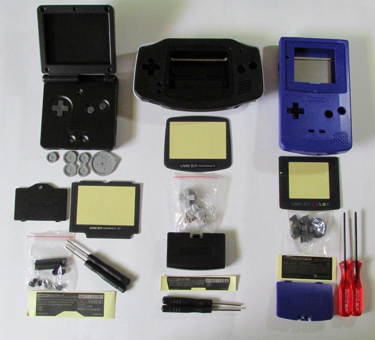 Game boy color quanto vale - Carca A Game Boy Color Advance Sp Nova Com Chave X E Y