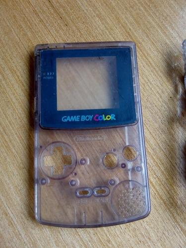carcaça game boy color translúcida