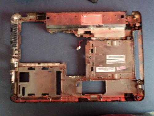 carcaça inferior  chassis notebook lenovo g450