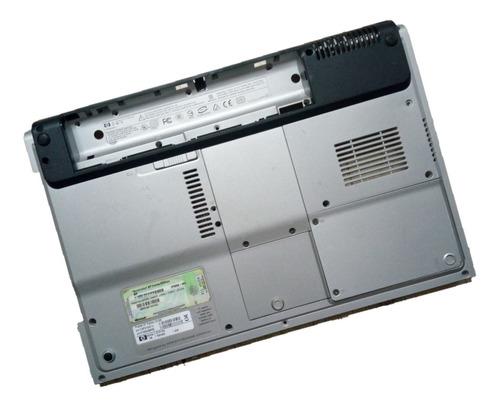 carcaça inferior completa prata notebook hp dv1000 dv1320