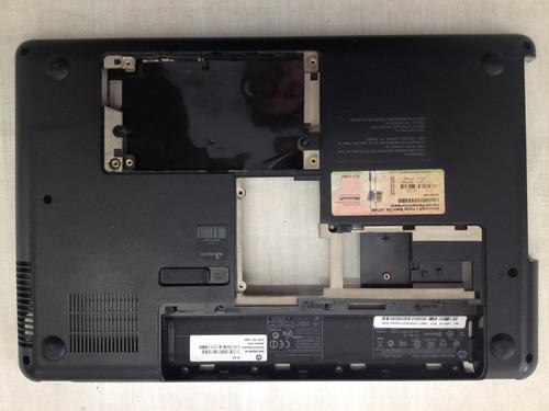 carcaça inferior de notebook hp g42