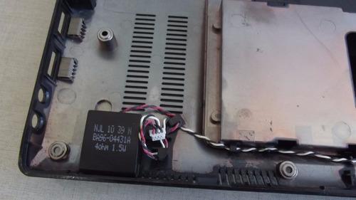 carcaça inferior do notebook samsung np-r430