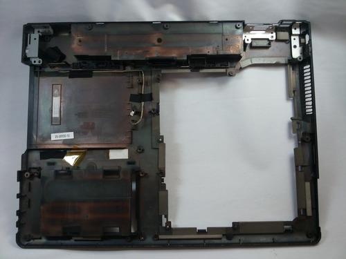 carcaça inferior itautec w7655 notebook- cx58