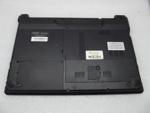 carcaça inferior notebook positivo premium select 7070